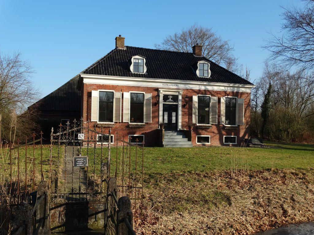 Foto van een Hollandse boerderij in Groningen